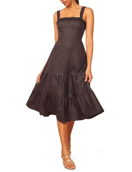 hyla-midi-dress by reformation