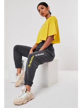 grey-mmix-loop-back-terry-jogger by missguided