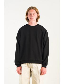 menswear-|-loopback-sweatshirt,-black by olive