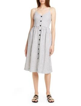cotton-&-linen-sundress by atm-anthony-thomas-melillo