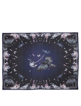 cotton-and-silk-scarf-moonlight-bird-print by holt-renfrew
