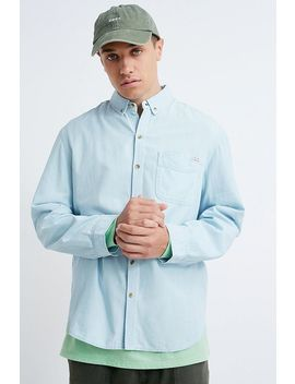 uo-denim-button-through-long-sleeve-shirt by urban-outfitters