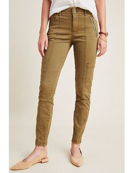 jefferson-high-rise-slim-utility-pants by anthropologie