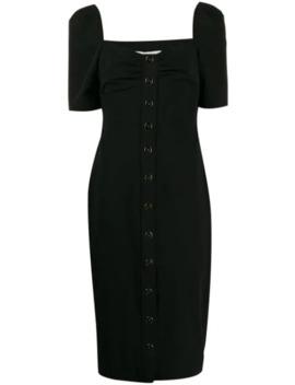 short-sleeve-midi-dress by veronica-beard
