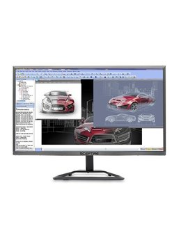 "refurbished-sceptre-e248w-1920r-24""-ultra-thin-led-monitor-hdmi,-metallic by sceptre"