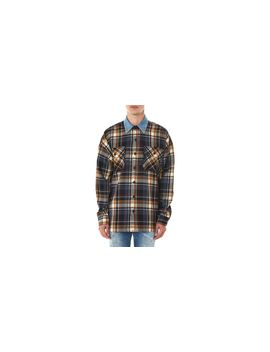 Men's Denim Collar Flannel Shirt by Fear Of God