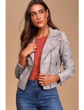 ready-to-roll-grey-vegan-leather-moto-jacket by lulus