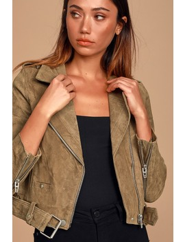 back-in-action-tan-suede-leather-cropped-moto-jacket by blank-nyc