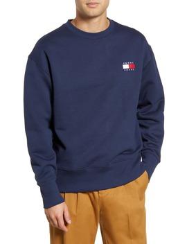 tjm-tommy-badge-crewneck-sweatshirt by tommy-jeans
