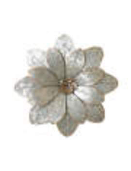 galvanized-metal-flower-wall-décor by galvanized-metal-flower-wall-décor