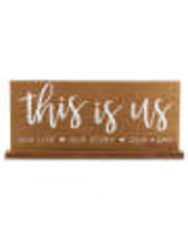 """""""this-is-us""""-tabletop-plaque by """"this-is-us""""-tabletop-plaque"""