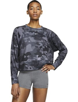 nike-womens-dri-fit-icon-fleece-camo-training-t-shirt by nike