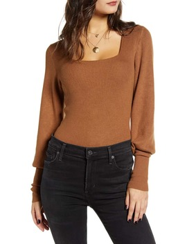 square-neck-ribbed-sweater by wayf