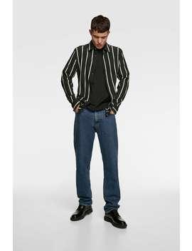 camisa-jacquard-raya-vertical by zara