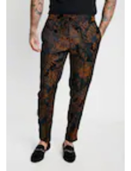 floral-printed-trouser---tygbyxor by topman