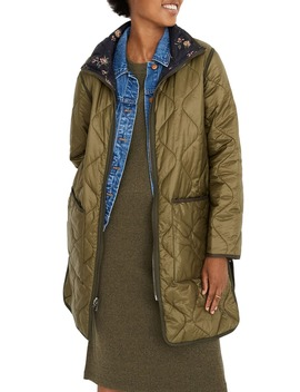forest-floral-reversible-quilted-liner-jacket by madewell