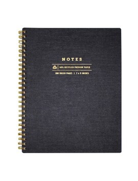 """spiral-notes-journal-lined-7""""-x-9""""---greenroom by greenroom"""