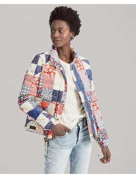 patchwork-quilted-down-jacket by ralph-lauren