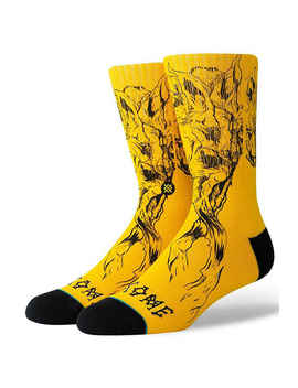 stance-x-welcome-wolves-sokken-us-6-12-(black) by stance