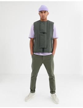 noak-puffer-vest-in-khaki by noak