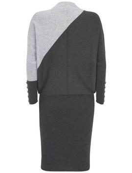 grey-blocked-jumper-dress by mint-velvet