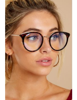cryptic-tortoise-clear-blue-light-glasses by quay-australia