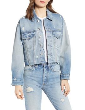 the-harvey-raw-hem-denim-jacket by boyish-jeans