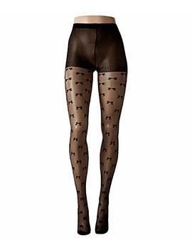 bow-fishnet-sheer-tights by kate-spade-new-york