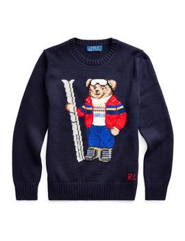 ski-bear-cotton-blend-sweater by ralph-lauren