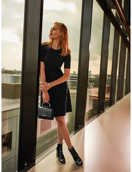 exclusive-black-jumper-dress by tommy-hilfiger