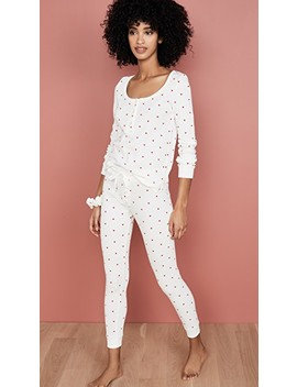 thermal-heart-pj-set-with-scrunchie by plush