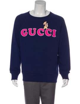pig-logo-sweatshirt by gucci