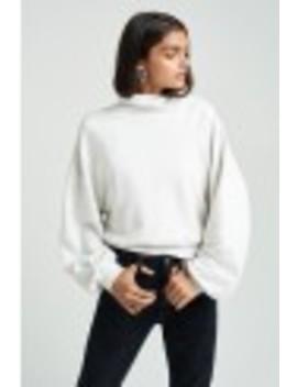balloon-sleeve-turtleneck-sweatshirt by agolde