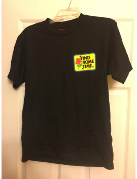 golf-wang-find-some-time-black-t-shirt-size-s by golf-wang  ×