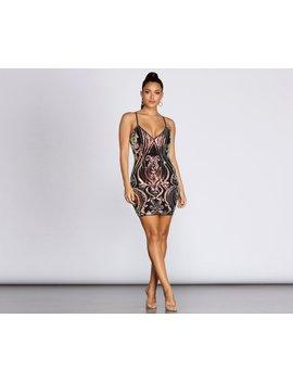 you-amaze-me-sequin-mini-dress by windsor