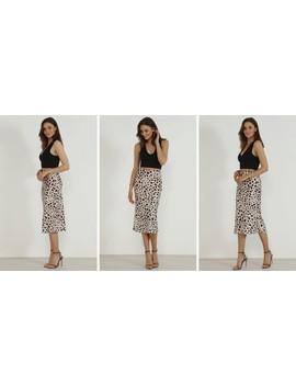satin-animal-leopard-print-midi-slip-skirt by urban-touch