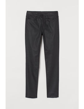 skinny-coated-jeans by h&m