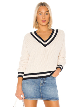 varsity-v-neck-cropped-sweater by 525-america