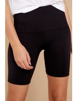 look-at-me-now-black-bike-shorts by spanx