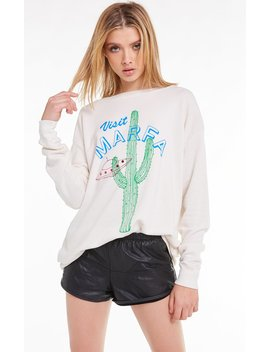 Visit Marfa Roadtrip Sweatshirt by Wilfdox