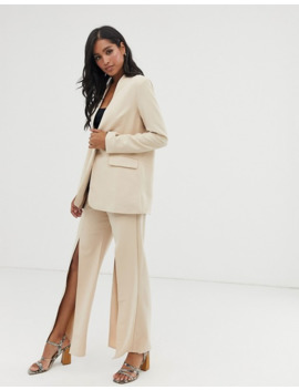 amy-lynn-collarless-suit-jacket by asos