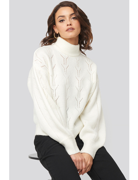 high-neck-balloon-sleeve-knitted-sweater-blanc by nadinexnakd