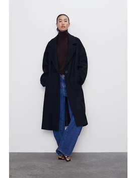oversized-button-coat by zara