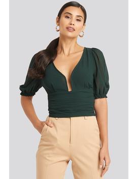 deep-neck-wrap-waist-top-vert by afjxnakd