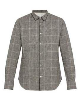 gab-glenn-plaid-cotton-shirt by officine-générale