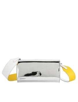 oz-organizer-clutch-mirror-silver by joseph-&-stacey