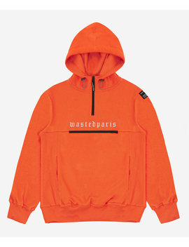 Hoodie Technic Orange Reflectif by Wasted