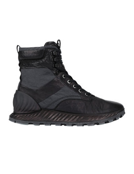 S0695 Garment Dyed Leather Exostrike Boot Con Dyneema®\N S0695 Garment Dyed Leather Exostrike Boot Con Dyneema® by Stone Island