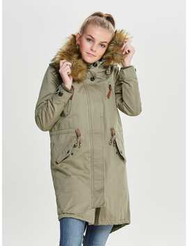 Functional Parka Coat by Only