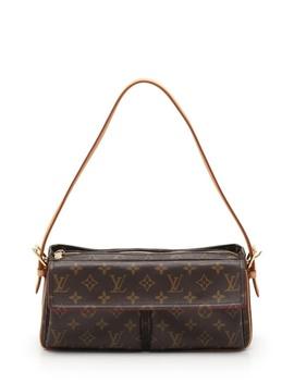 Beautiful Article Louis Vuitton ルイヴィトンヴィバシテ Mm Monogram Shoulder Bag M51164 Pvc Leather Tea Brown Lady's by Rakuten Global Market